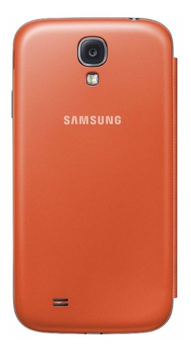 samsung case flip cover naranja samsung galaxy s4 grande