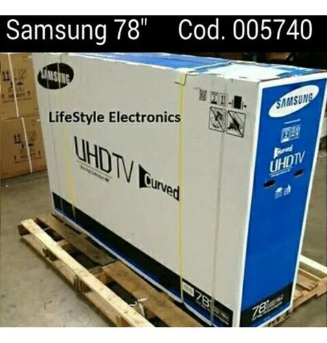 samsung curved 78 pulg.
