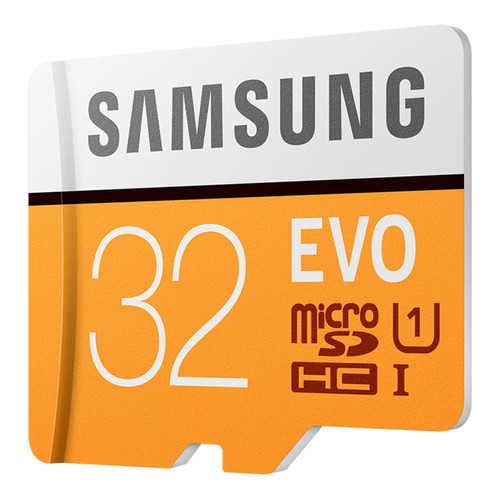 samsung evo micro sdhc de 32gb uhs-1 u1 95m / s