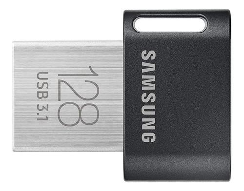 samsung fit plus pen drive 128gb usb 3.1 300 mb/s promoção