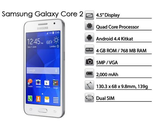samsung g355  liberados  core 2 originales con garantia