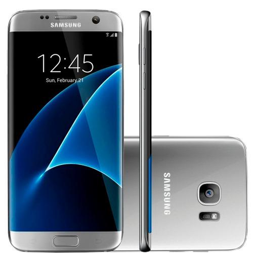 samsung g935 galaxy s7 edge 32gb prata 12mp original | novo