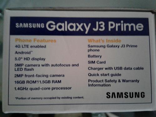 samsung galaxi j3 prime 4g lte