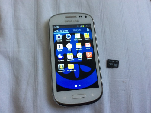 samsung  galaxi  mini  con chip 16 gb,  liberado