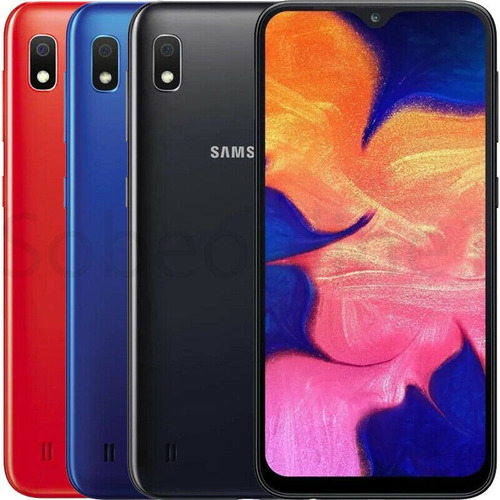 samsung galaxy a10 32gb rojo