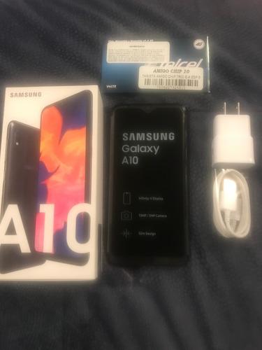 samsung galaxy a10 nuevo desbloqueado y con chip telcel free