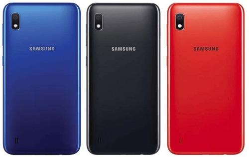 samsung galaxy a10 tienda física +forro+vidrio original 130v