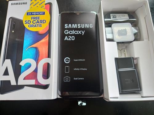 samsung galaxy a20 32gb + sd 32gb 2019 garantia dual sim