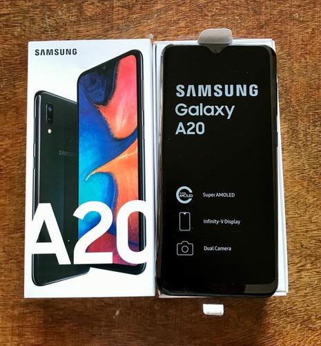 samsung galaxy a20, liberado, nuevo