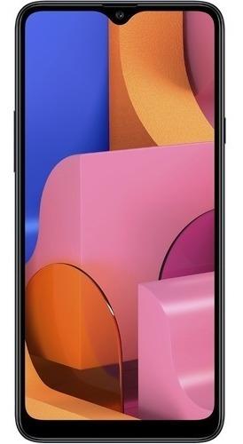 samsung galaxy a20s 32gb android 9.0 tela 6.5  preto
