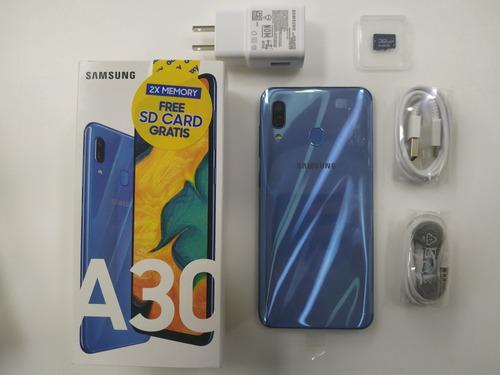 samsung galaxy a30 [200] - tienda física   garantía   nuevos