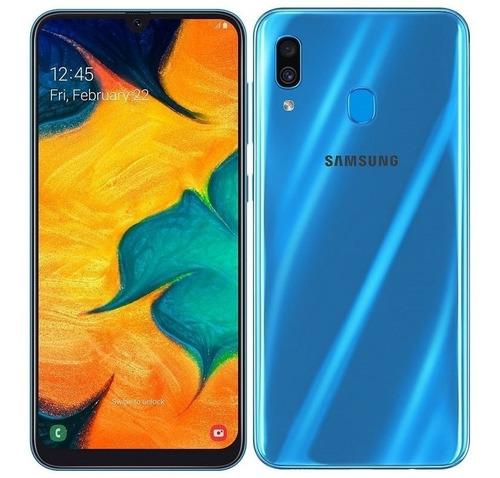 samsung galaxy a30 2019 - 32gb/3gb - lusamsa celulares