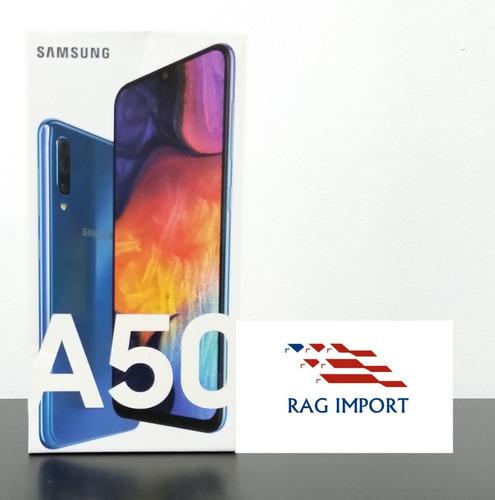 samsung galaxy a50 / 4gb ram / 64gb + microsd 64gb nuevo!!