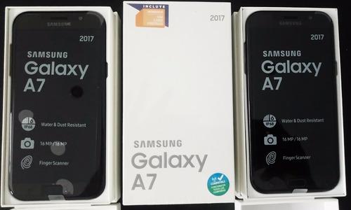 samsung galaxy a7 2017 4g lte tiendas cajas sellados