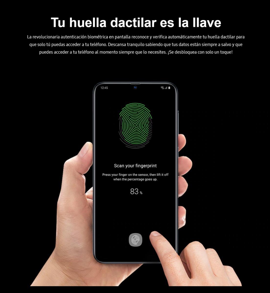 Resultado de imagen para Samsung A70 tu huella es llave