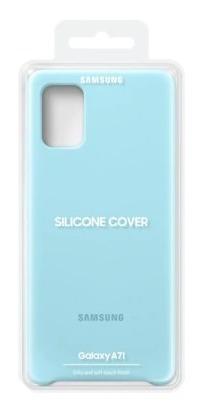 samsung galaxy a71 cover silicone azul