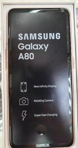 samsung galaxy a80 2019 128gb   8gb - 48mpx 4g lte +microsd
