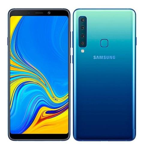 samsung galaxy a9 2018 l/fáb duos 6gb 128gb 24mp 4 cámara se