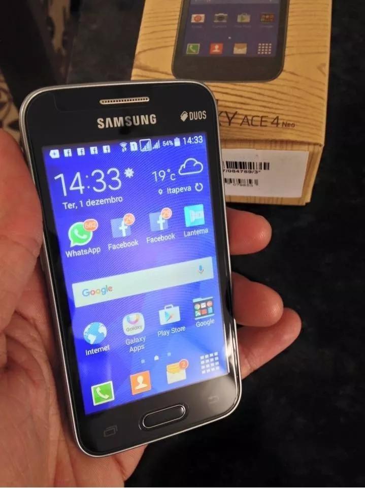 Samsung Galaxy Ace 4 Lite Duos 1ghz 3mp Sm G313ml Ds