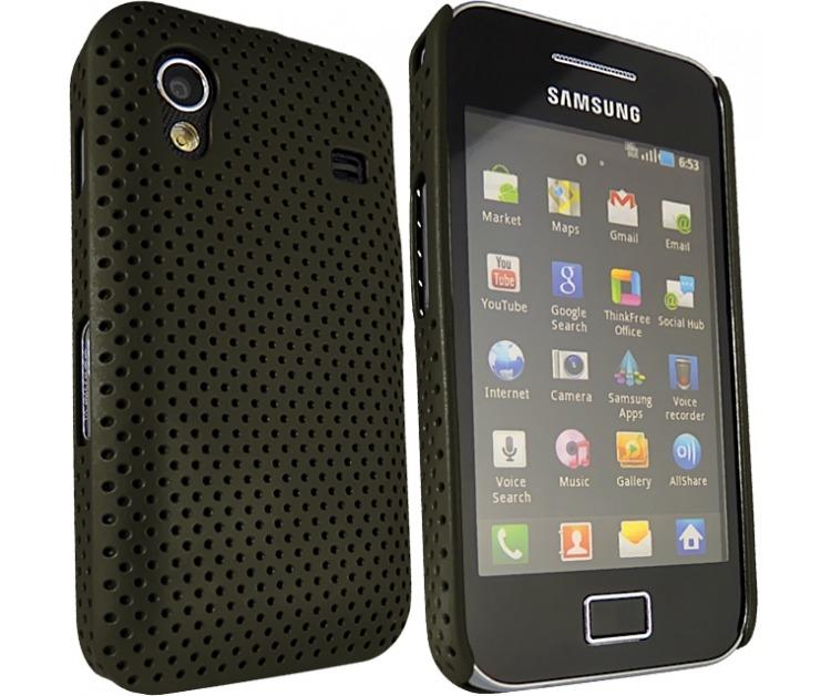 Samsung galaxy ace funda carcaza perforada en mercado libre - Fundas samsung ace ...
