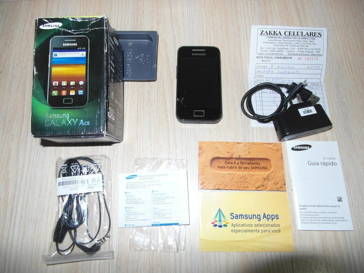 Manual De Celular Samsung Galaxy Ace