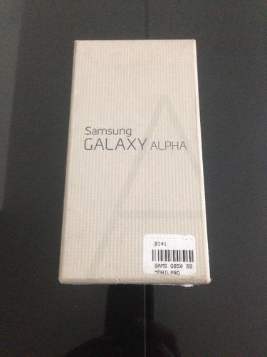samsung galaxy alfa 32gb + smartwatch dz09 nuevos