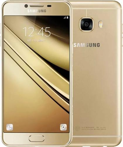 samsung galaxy c5 c5000 dual sim 32gb lte (gold)