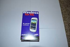 samsung galaxy exhibit white (metro pcs)
