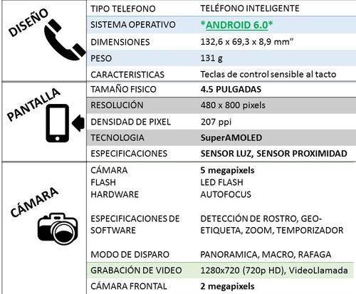 samsung galaxy express 3 lte 4g 5 mp 1 gb ram android 6.0