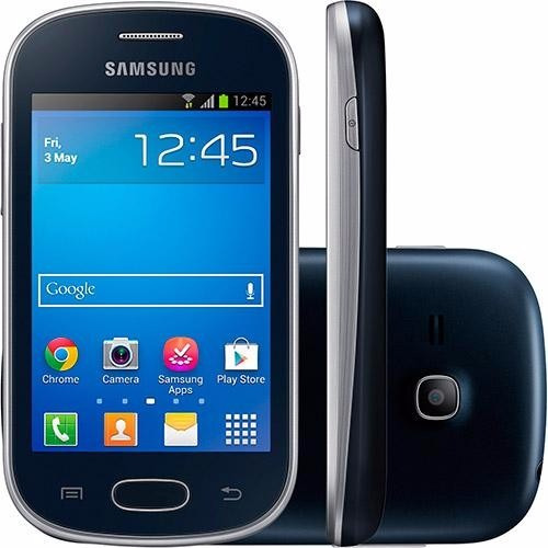 samsung galaxy fame lite single android 4gb preto vitrine