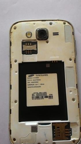 samsung galaxy gran 2 duos gt i9060c com a tela quebrada  indicado para tecnicos fazer retirada componentes frete gratis