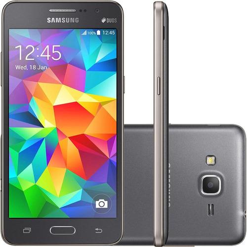 samsung galaxy grand prime duos câmera 8mp, android 5.1.