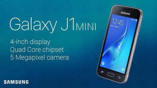 samsung galaxy j1 mini 8gb + mica de vidrio + garantia