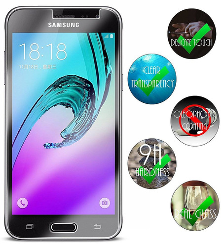 samsung galaxy j3 amp prime protector de pant + envio gratis