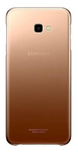 samsung galaxy j4 plus + funda gradation cover de regalo