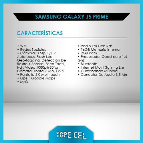 samsung galaxy j5 prime * nuevos * libres * gtia * tope cel