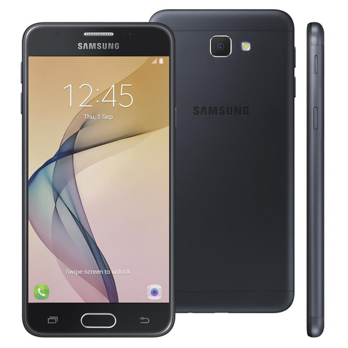 samsung galaxy j5 prime preto 32gb leitor digital flash 4g