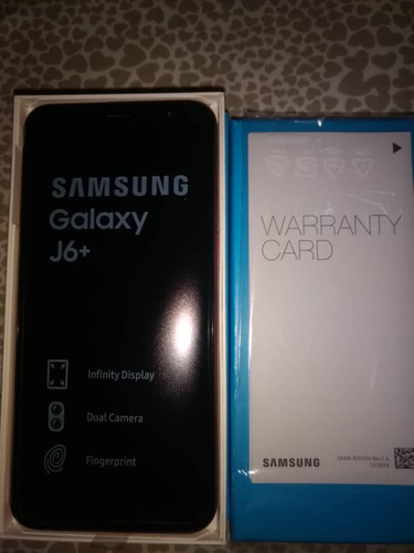 samsung galaxy j6+ 32gb 3gb ram camara dual