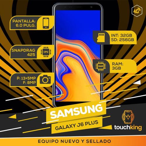 samsung galaxy j6 plus 32gb ram 3gb libre de fabrica sellado