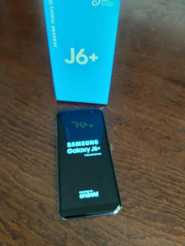 samsung galaxy j6 plus + 3gb ram + 32 internos + liberado