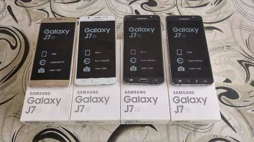 samsung galaxy j7 2016 l/fábrica 13mp 4g 16gb 2gb sellado of