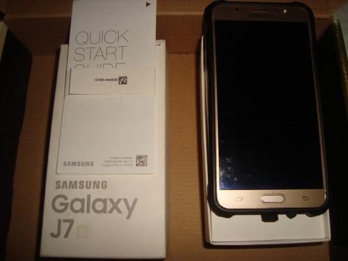 samsung galaxy j7  dorado dual sim octa core memoria 16gb hd