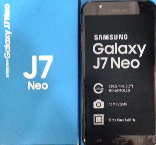 samsung galaxy j7 neo 16gb 2ram 13mp  5mp s amoled 1.6ghz
