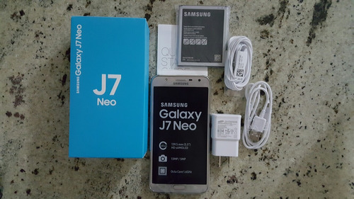 samsung galaxy j7 neo dual sim silver (nuevo)