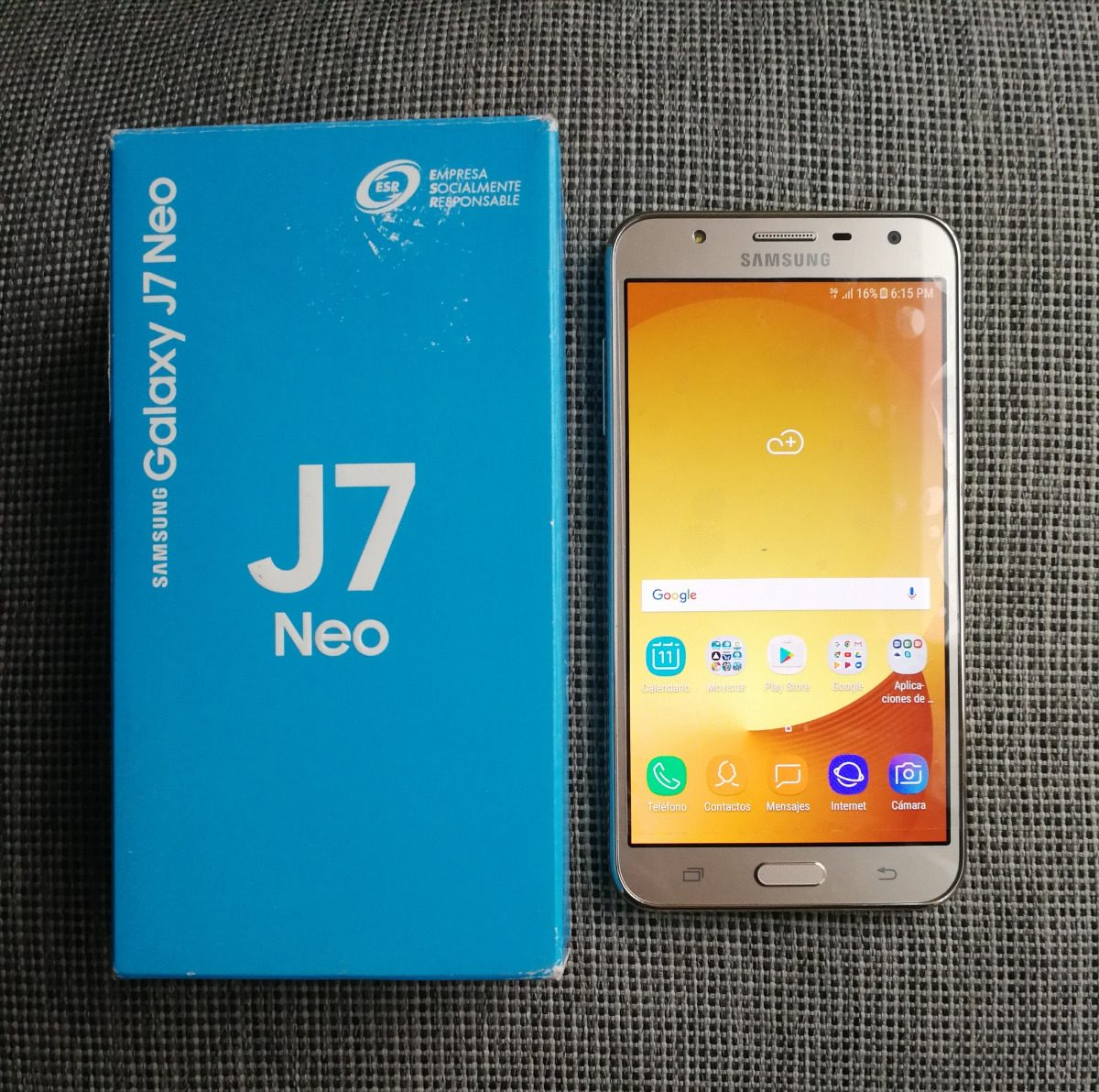 4eac31d0ca9 Samsung Galaxy J7 Neo, En Caja, Liberado, Estetica De 9 - $ 3,099.00 ...