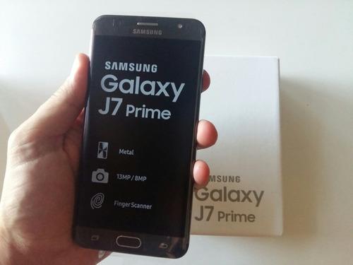 samsung galaxy j7 prime 16gb 3gb ram+ templado+ funda regalo