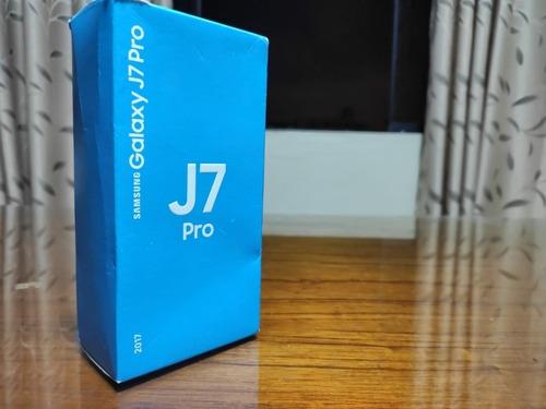 samsung galaxy j7 pro 3/32 gb gold / con caja / cargador