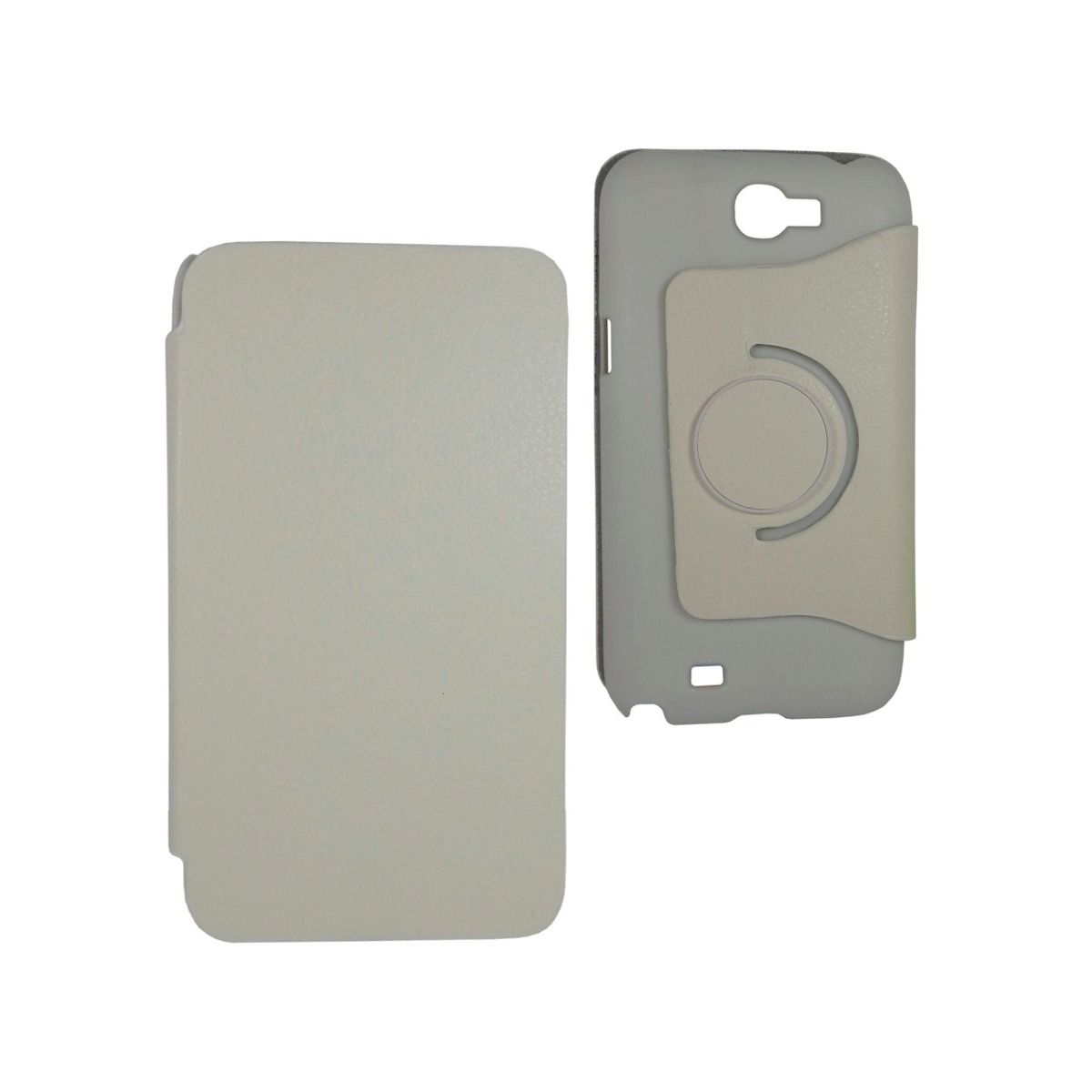 Samsung galaxy note 2 funda giratoria flip cover 360 blanco en mercado libre - Note 2 fundas ...