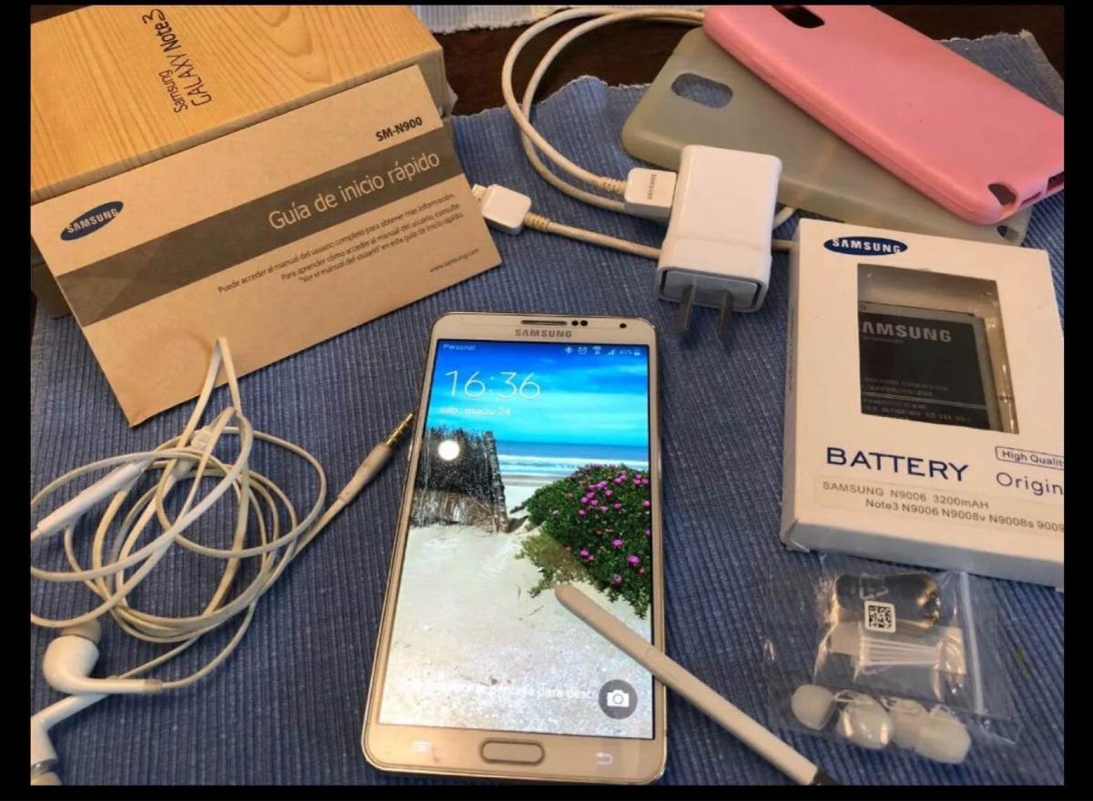 65497409ffc Samsung Galaxy Note 3 Con Accesorios - $ 3.999,00 en Mercado Libre