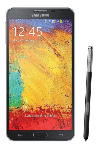 Celular Smartphone Samsung Galaxy Note 3 Neo Duos N7502 16gb Preto - Dual Chip